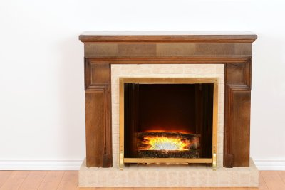 Fireplace insert for household